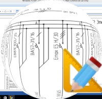 Программа для Однолинейных Электрических Схем - ДНД КОС