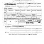 Протокол испытания КЛ повышенным напряжением