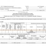 Протокол испытания раздвижной изолирующей лестницы
